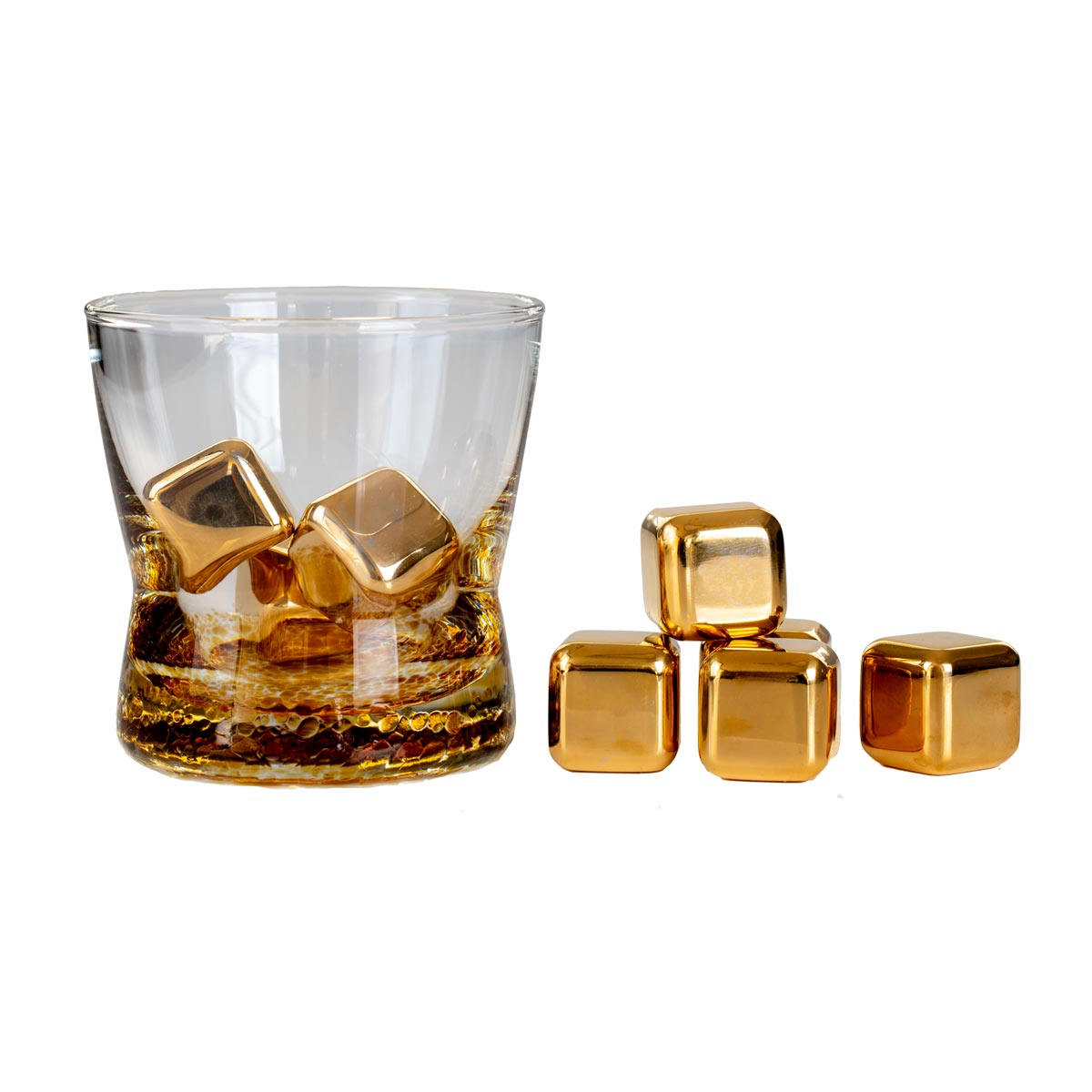 Elite Luxury 24K Gold Whisky Stones