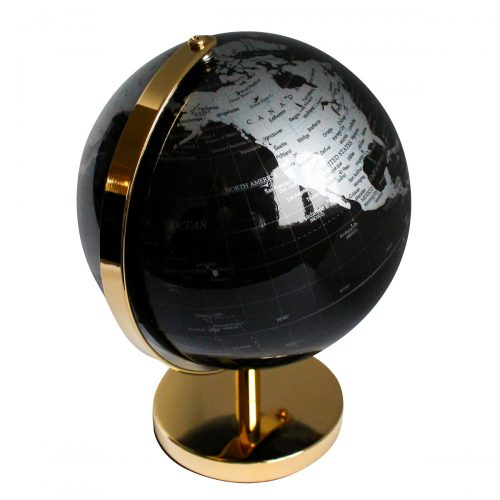 Elite Luxury 24K Gold Plated Desk Globe