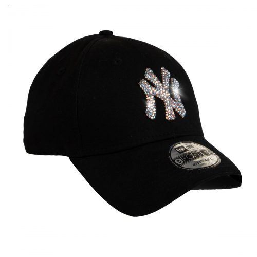 Elite Luxury New York Yankees Cap with Swarvoski Crystals
