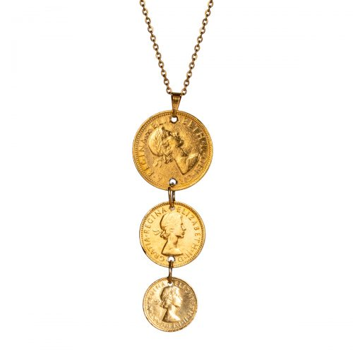 Elite Luxury 3 Coin Pendant