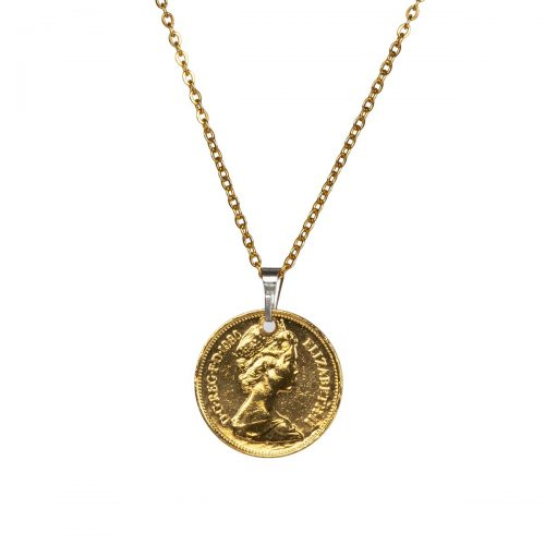Elite Luxury Five Pence Pendant