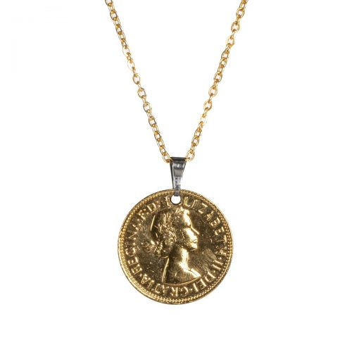 Elite Luxury Half Penny Pendant