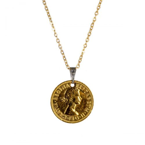 Elite Luxury One Shilling Pendant