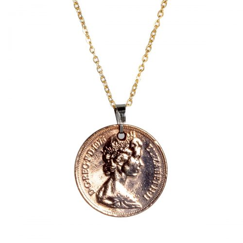 Elite Luxury Ten Pence Pendant