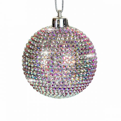 Elite Luxury Swarovski Crystal Medium Christmas Bauble-EL02