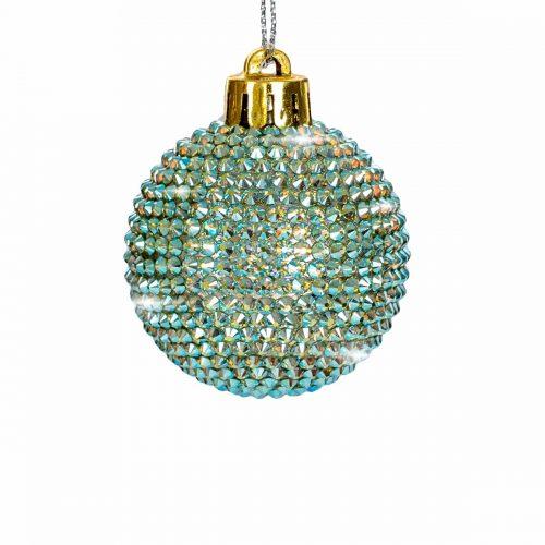 Elite Luxury Swarovski Crystal Small Christmas Bauble-EL04