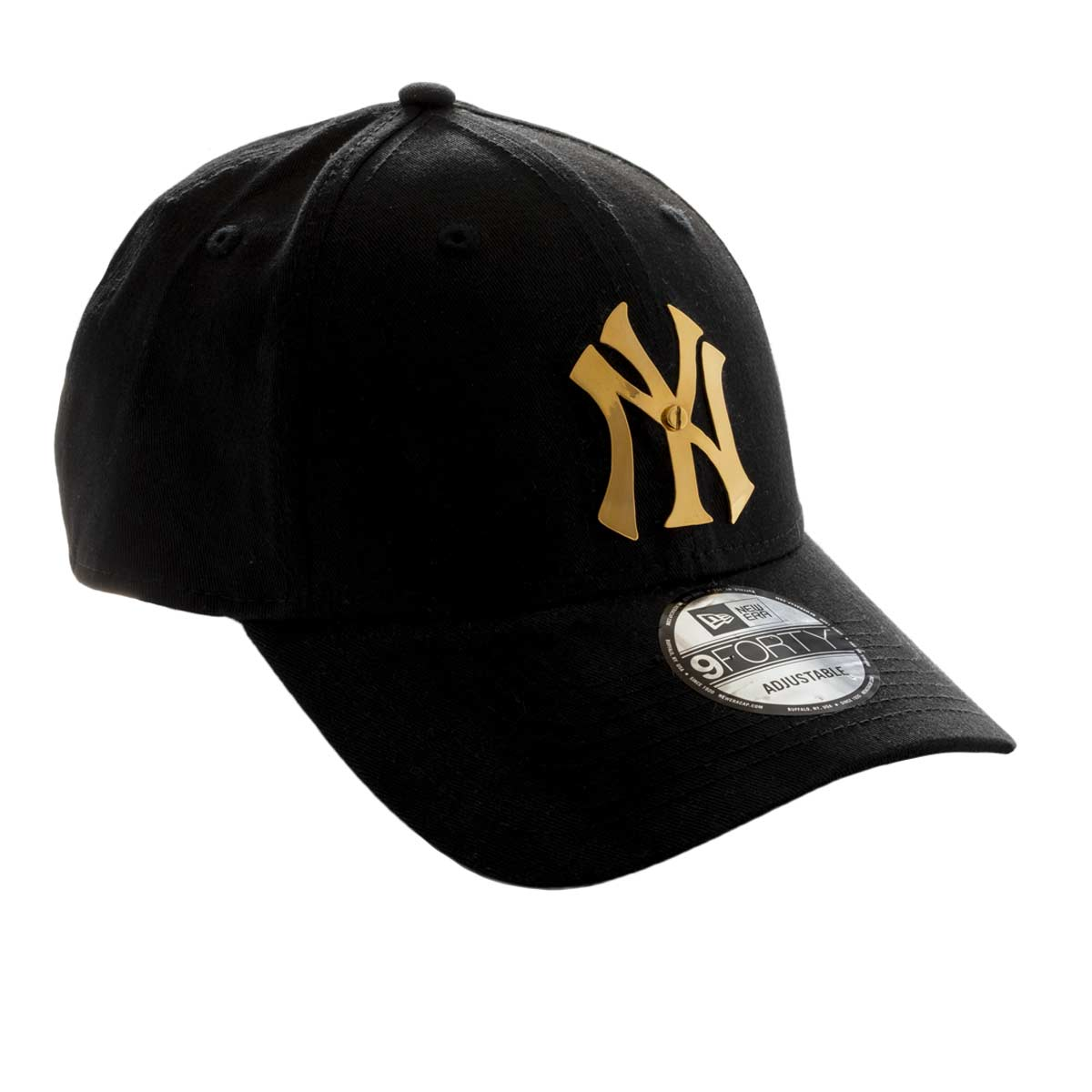 Elite Luxury New York Yankees Cap-Black-Gold