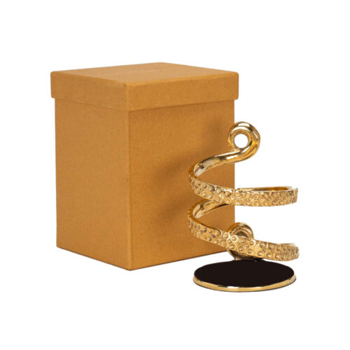 Elite Luxury Gold Plating Octopus Tentacle Wine Bottle holder