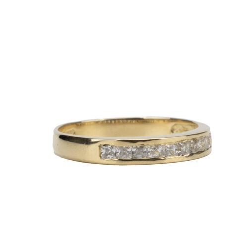 Nine Stone CZ Ring