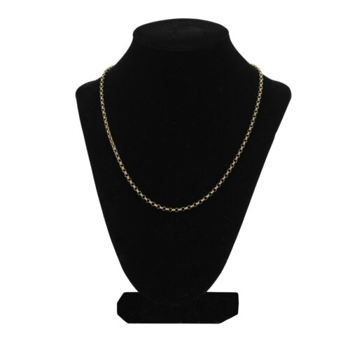 9k Gold Belcher Chain